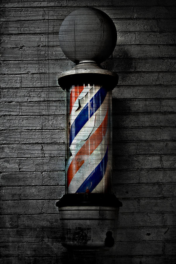 The red and white barber pole was an international sign long before    Barber Pole Black And White